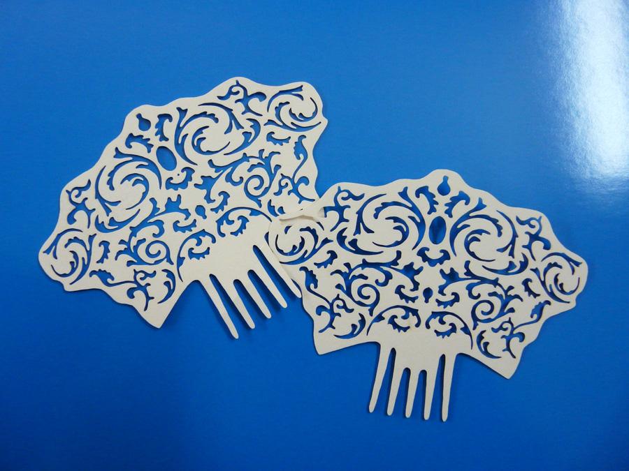 Corte láser de papel