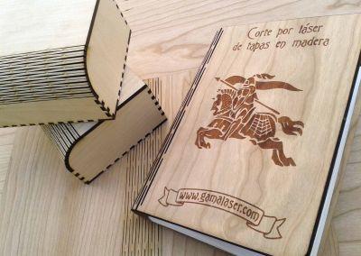 Corte láser de tapas y cajas de madera