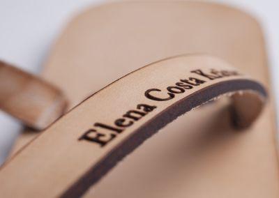Corte y grabado sobre cuero