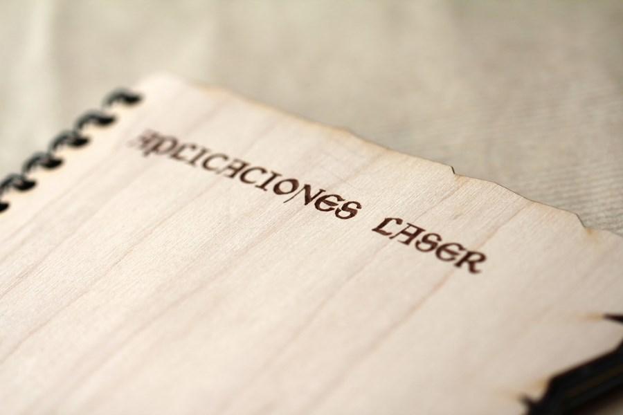 Cubierta en madera flexible catálogo Gama Láser