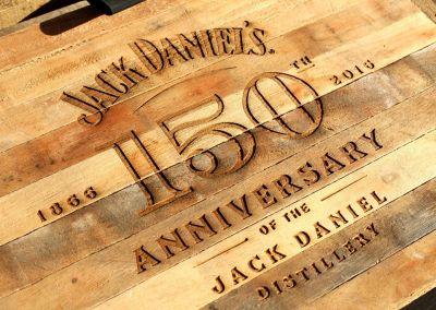 Grabado láser Jack Daniel`s