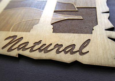 Grabado láser en madera