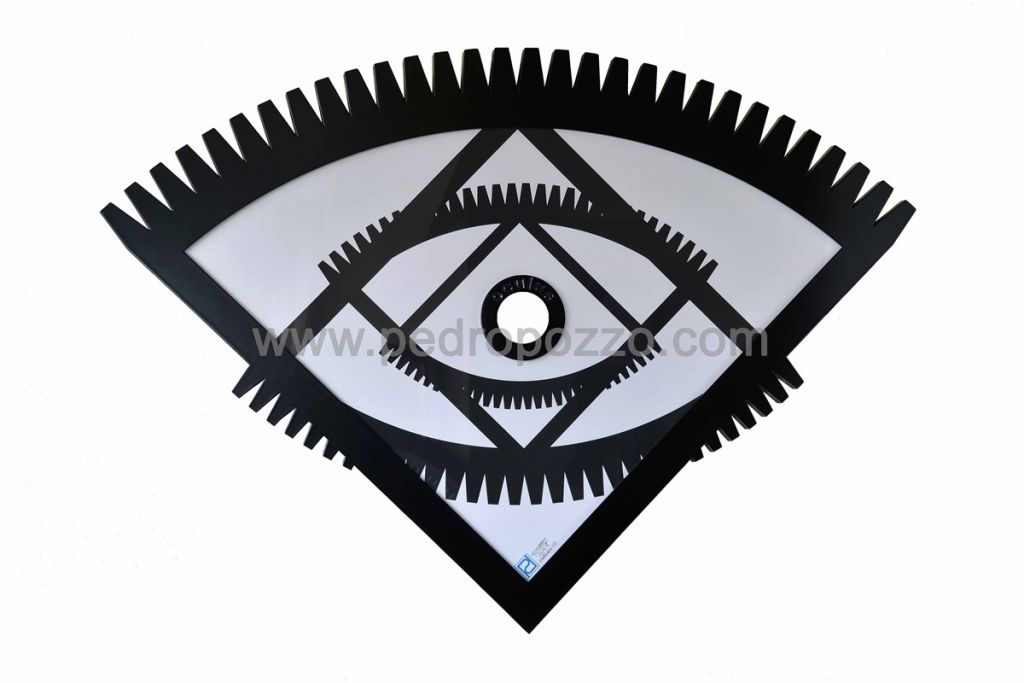 Oculus corte láser madera