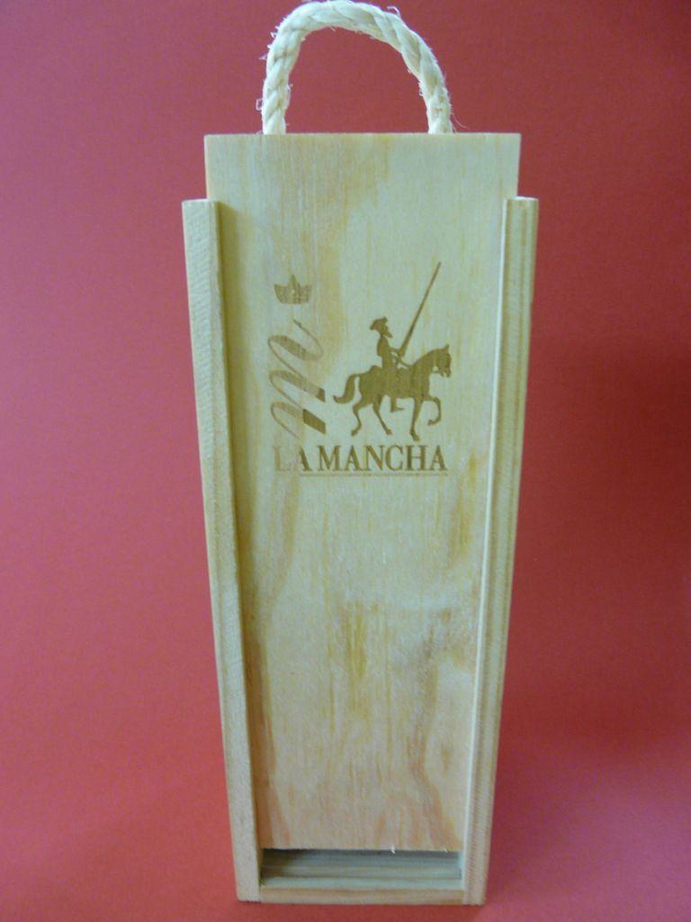 Personalizaciones en madera caja de vino