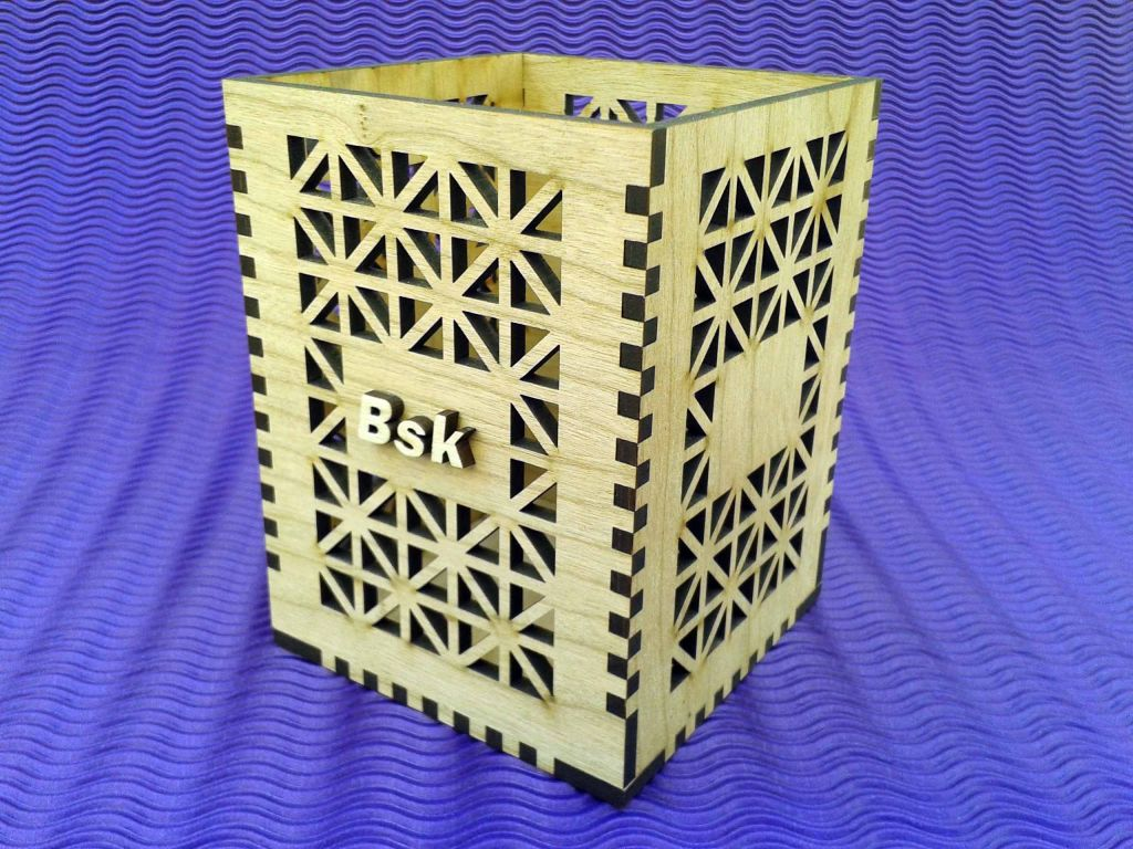Portalapices en madera