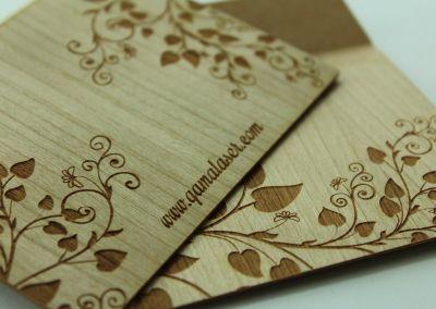 Tallado en madera flexible