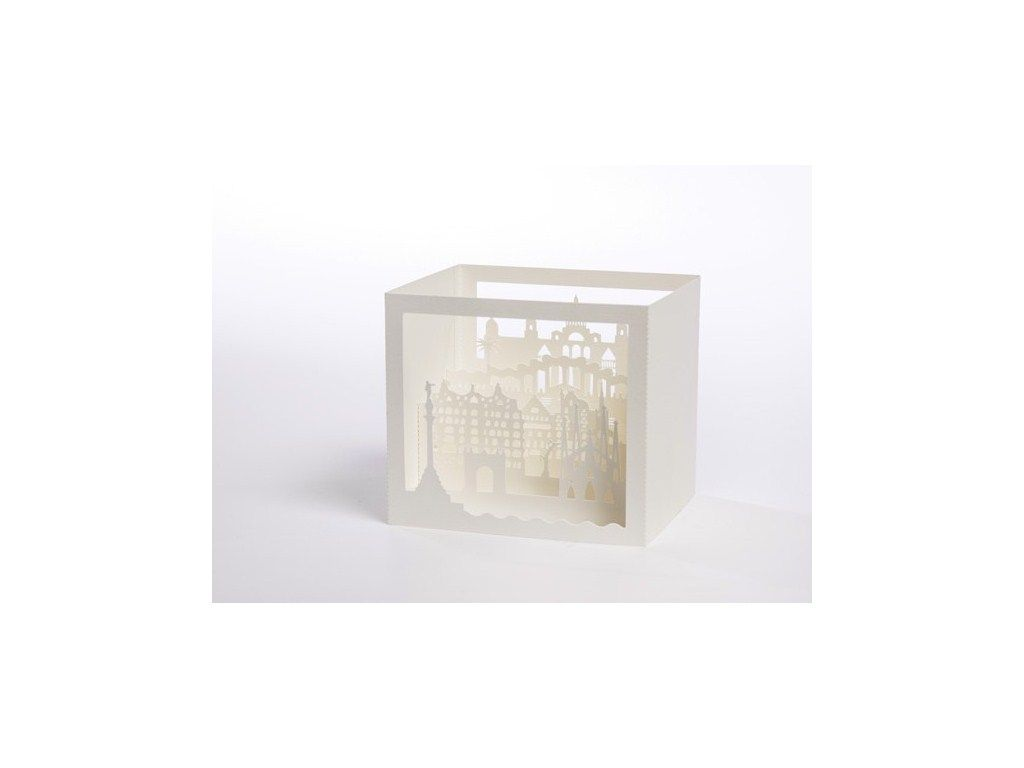 Caja Barcelona corte láser