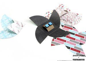 Gemelos de papel Atelier