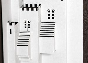 Origami arquitectónico láser