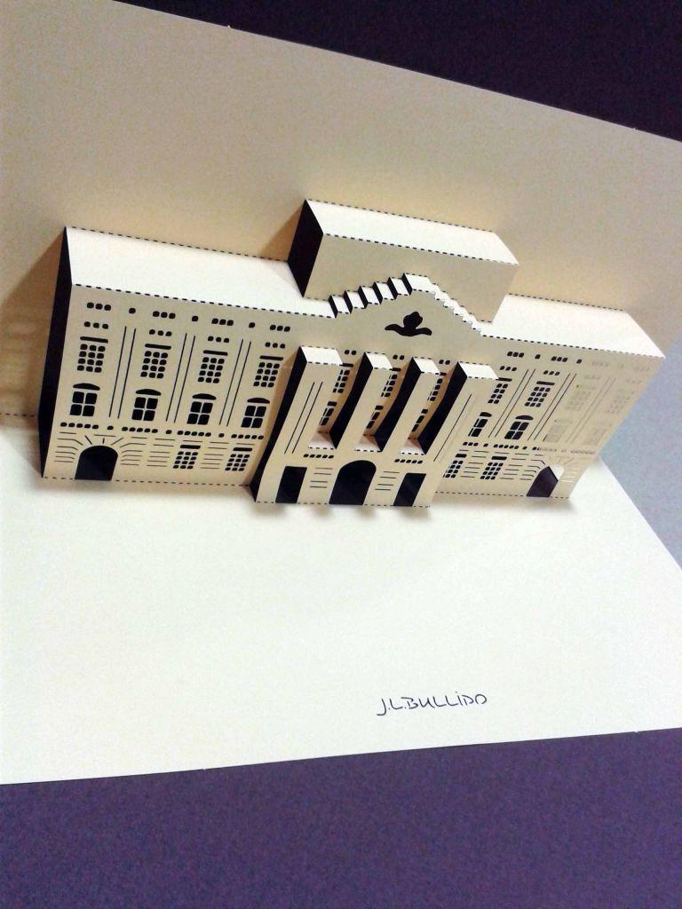 Origami corte y troquelado láser