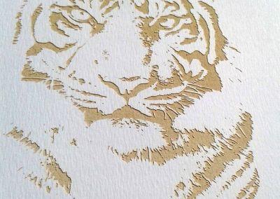 Tallado de papel láser