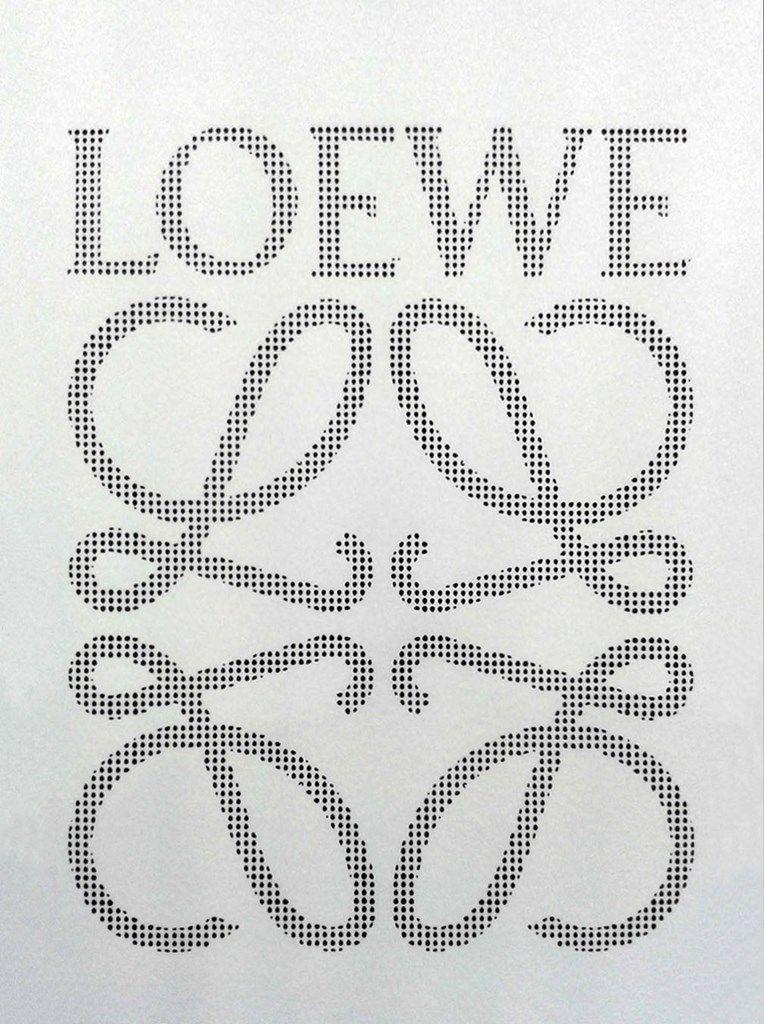 Tarjetón Loewe troquelado láser