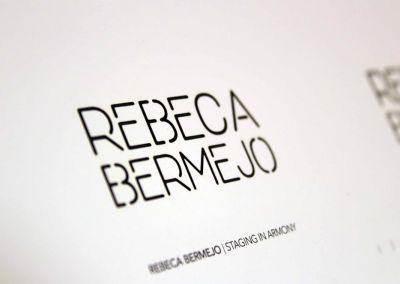 Tarjeta de visita Rebeca Bermejo