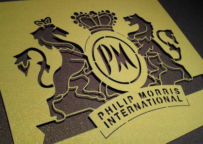 Troquelado láser Philip Morris