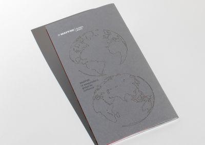 Troquelado láser folleto Mapfre