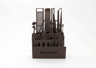Desplegable Madrid