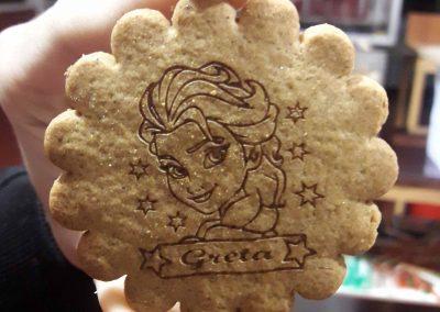 11 Marcado láser galletas