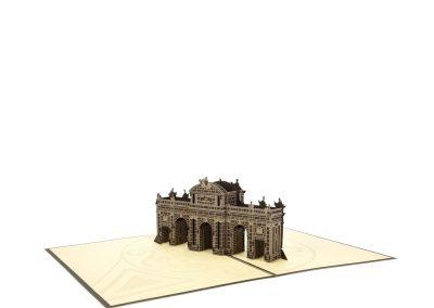 4 Troquelado láser pop-up 3D Puerta de Alcalá